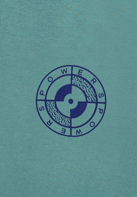Powers Milano T-Shirt - Dusty Emerald