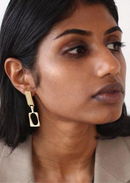 BAR Jewellery Duet Earrings - Gold Plated
