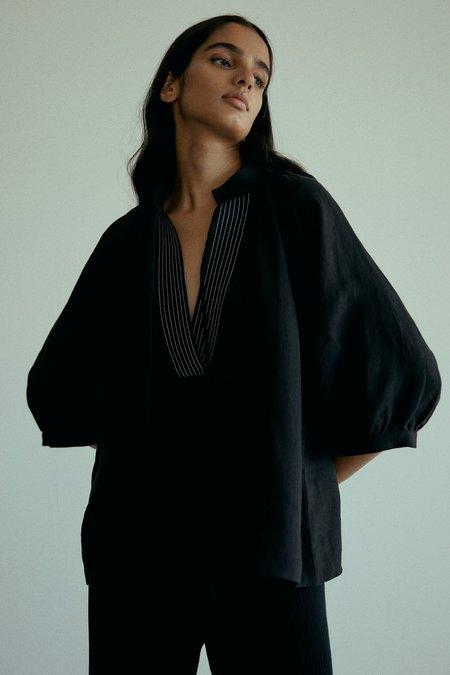 MARLE Pia Top - Black