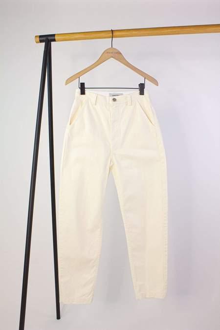 Rachel Comey Psuedo Pant - White/Herringbone Pattern