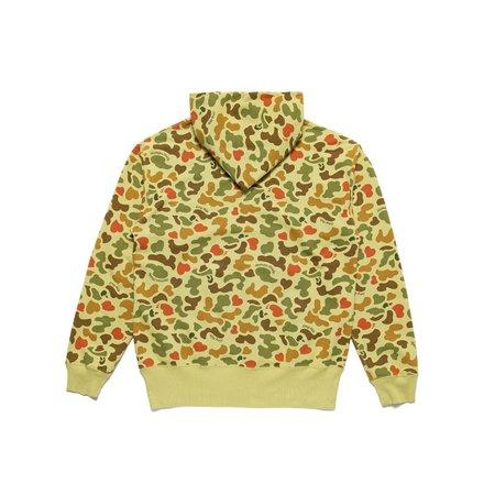 Human Made Duck Camo Zip Hoodie - Green
