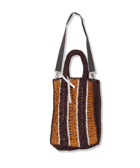 Tela Cicala bag - Orange/Burgundy