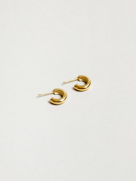 Wolf Circus Small Abbie Hoops - Gold