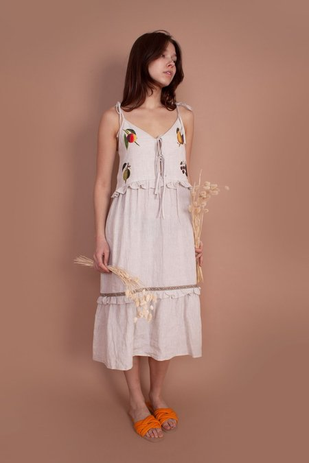 Meadows Willow Dress - fruit check