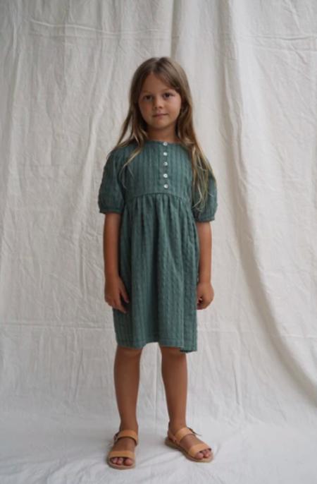 Kids House of Paloma Lilou Dress - Green