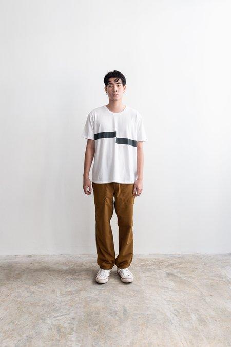 Nanamica Cooolmax Graphic T-Shirt - White/Black
