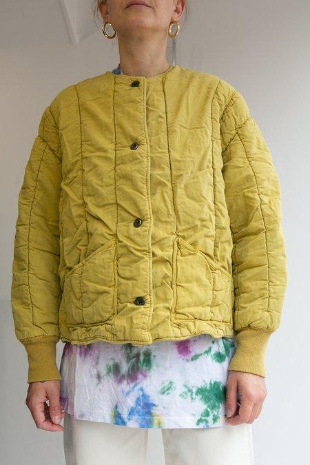 WOLF & GYPSY VINTAGE Czech Military Liner jacket - Mustard