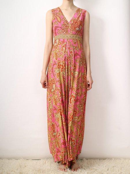 Vintage paisley jumpsuit