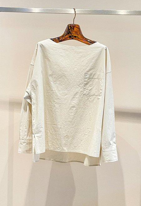 Nicole Kwon Concept Store Structured Cotton Blouse