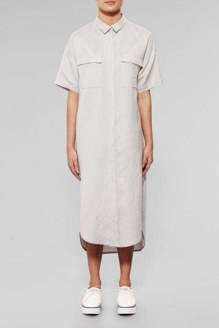 NATIVE YOUTH Ionized Maxi Shirt Dress
