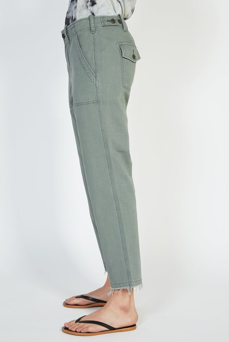 G1 Surplus Raw Hem Pants - Utility Green