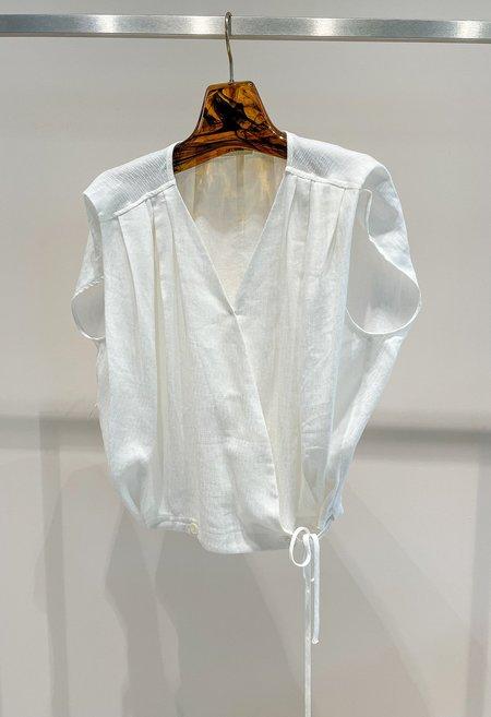 Nicole Kwon Concept Store Joe Blouse - White