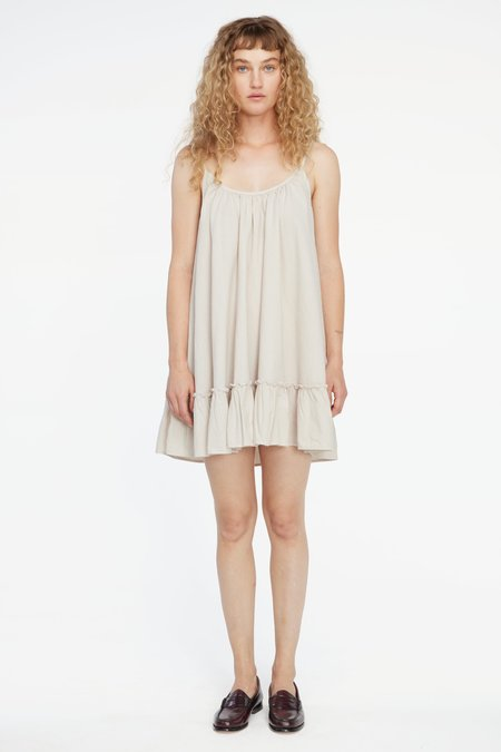Lacausa Reina Mini Dress - Sea Salt