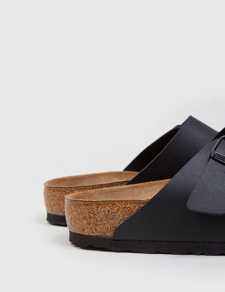 Birkenstock Arizona Leather Sandals Regular - Black