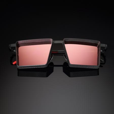 Unisex VYSEN Eyewear Alec Rose Gold Mirror Lenses AL-2 Sunglasses