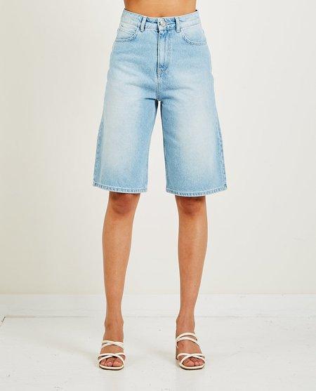 Just Female Bay Bermuda Denim Shorts - LIGHT
