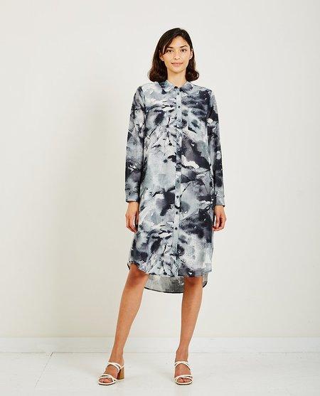 Just Female Spirit Shirt Dress - Grey