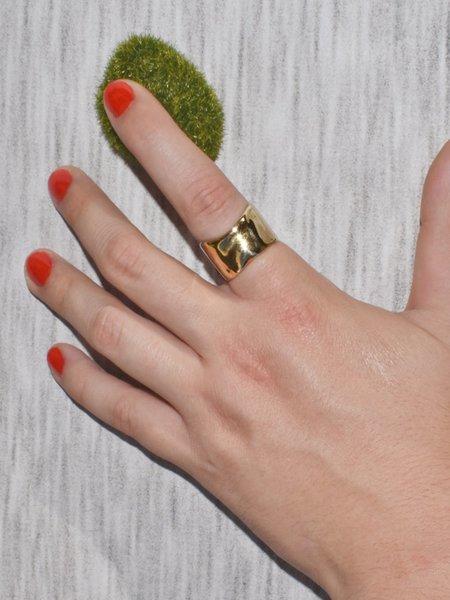 Slantt GIA Ring - Brass