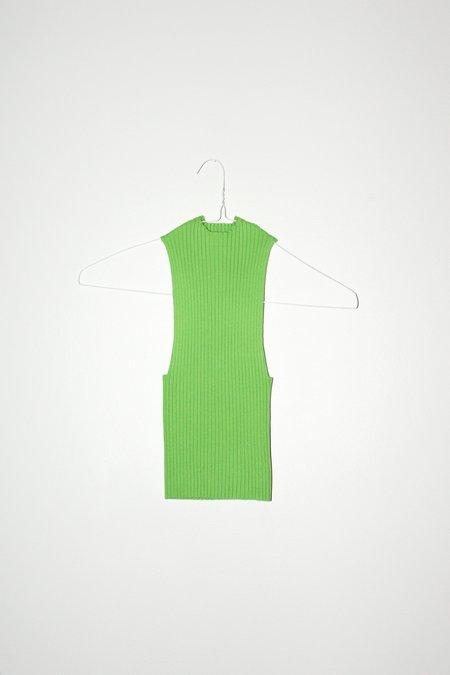 giu giu Nonna Tank - Celery
