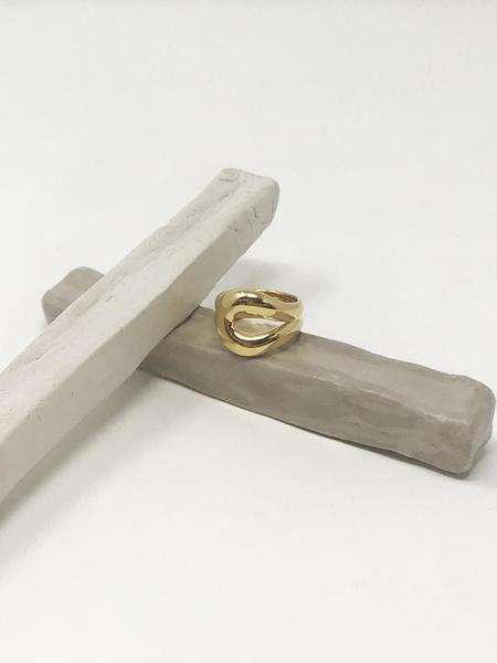 MM Druck Mustang Ring - Gold