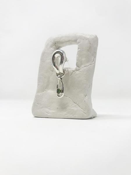 MM Druck Palomino II Earrings - Silver/Tourmaline