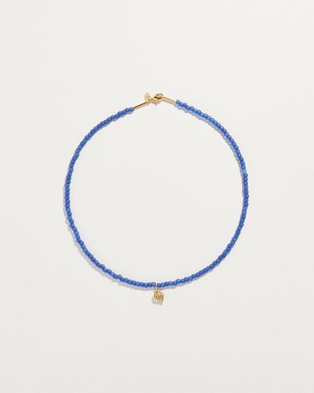 Pamela Love Beaded Seashell Necklace