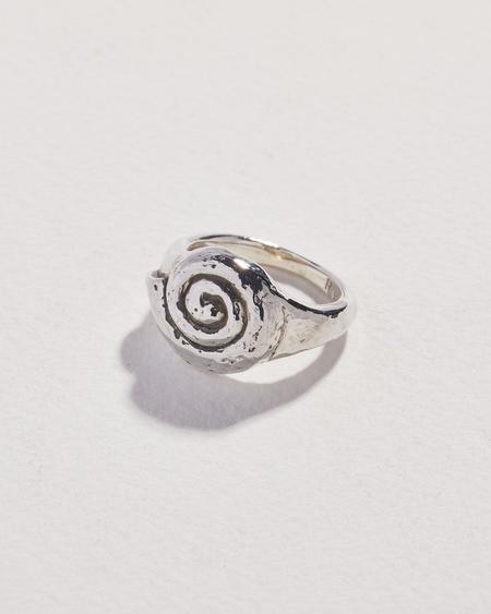 Pamela Love Seashell Ring - Silver