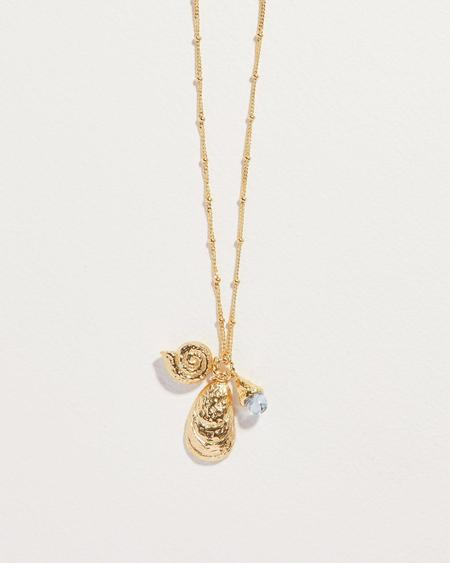 Pamela Love Shipwreck Charm Necklace