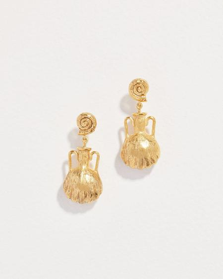 Pamela Love Shipwreck Earrings