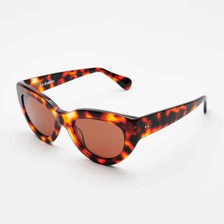 Unisex Sun Buddies Amy Sunglasses - Leopard