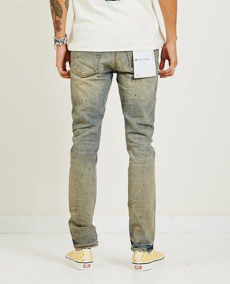PURPLE P001 Slim Fit Jeans - Indigo Oil