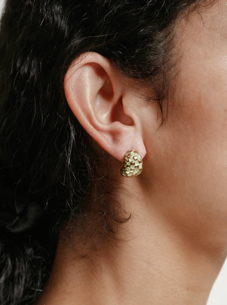 Wolf Circus - Nellie Earrings - Green/Gold
