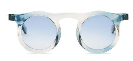 Carla Colour Lind Sunglasses - Blue Cloud