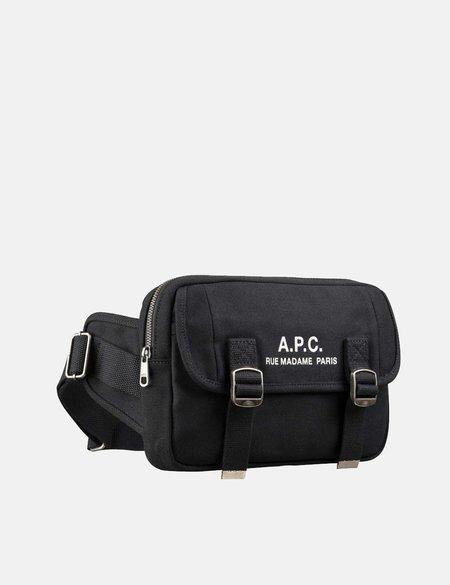 A.P.C. Recuperation Bum Bag - Black
