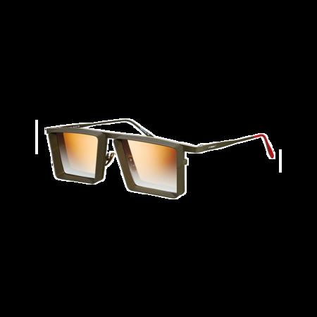 UNISEX Vysen Eyewear Alec AL-3 Sunglasses - Military Dark Green