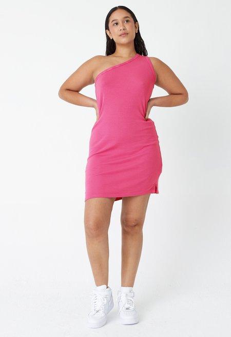 back beat rags Hemp Cher Rib Dress - Virtual