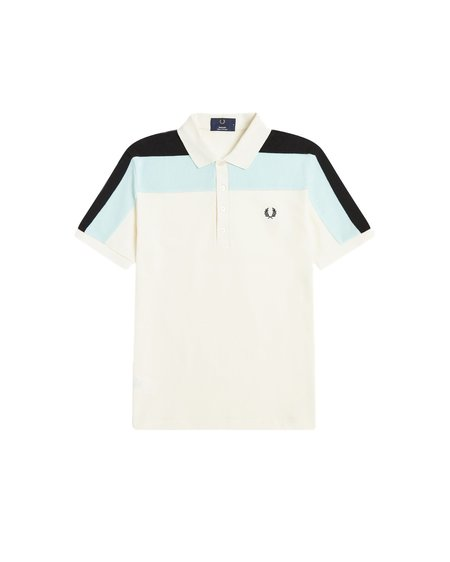 FRED PERRY Reissues Plush Panel Polo Shirt - Multicolor 560