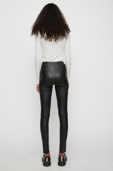 Just Female Nex Leather Leggings