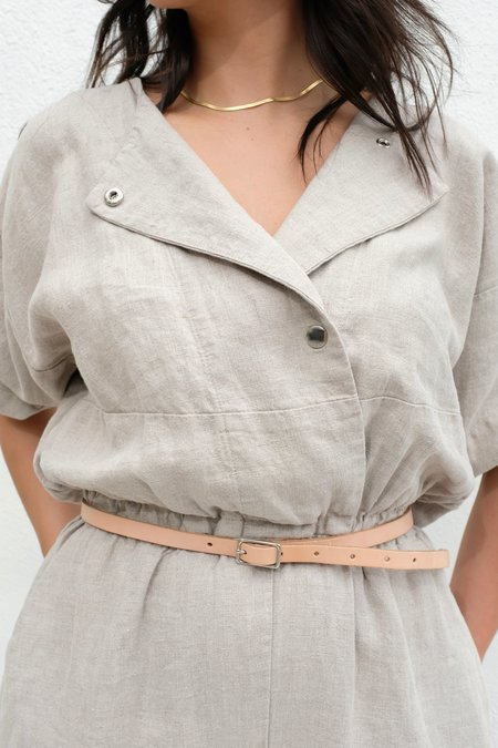 The Stowe 1/2 Inch Belt - Natural