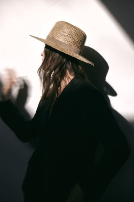Janessa Leone Leigh Fedora - Natural