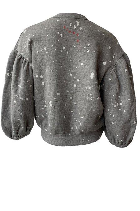 Clare V. Drop Shoulder Sweatshirt - Grey
