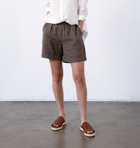 It Is Well L.A. Everyday Gauze Shorts - Olive