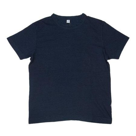 Pure Blue Japan Knit Short Sleeve Tee - Indigo