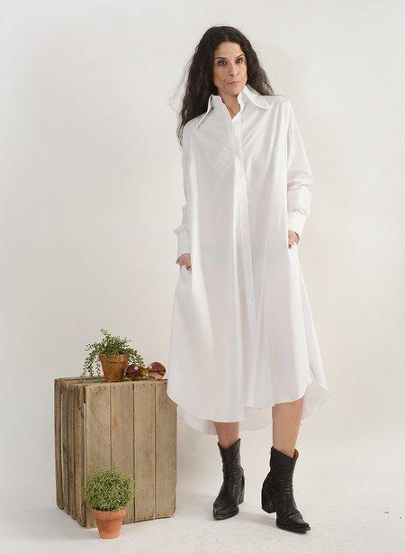 Meg Maven Dress - White