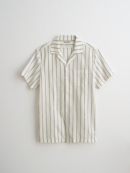 Alex Mill Cotton Camp Shirt - Striped