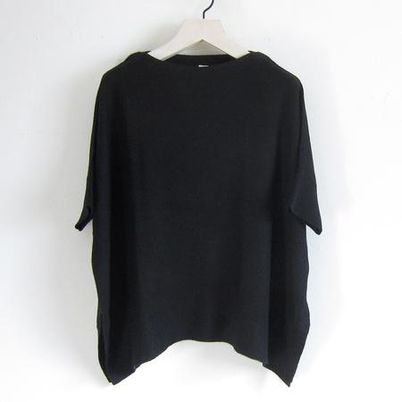 Task cashmere tee - black