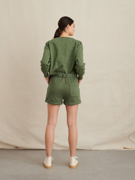 Alex Mill Lakeside Shorts - Army Green