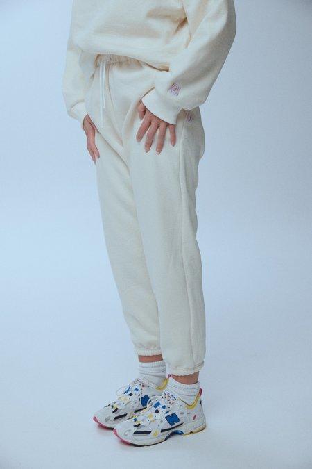 baaby Organic Fleecy Track Pants - CREAM