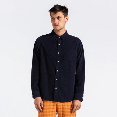 Banks Journal Roy L/S Woven Shirt - Dirty Denim