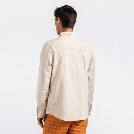 Banks Journal Teen L/S Woven Shirt - Bone